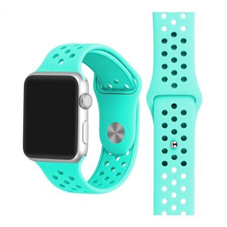 купить Ремешок Apple Watch с отверстиями мятный (38/40 мм.), в Ростове с доставкой