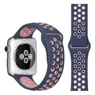 Ремешок Apple Watch с отверстиями синий (42/44 мм.)