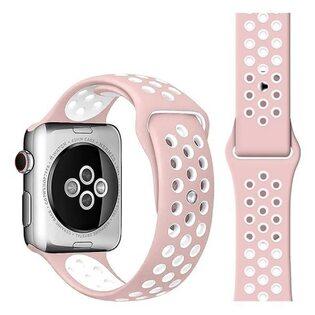 Ремешок Apple Watch с отверстиями розовый (38/40 мм.)