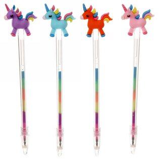 Ручка Единорог с разными цветами в ассортименте