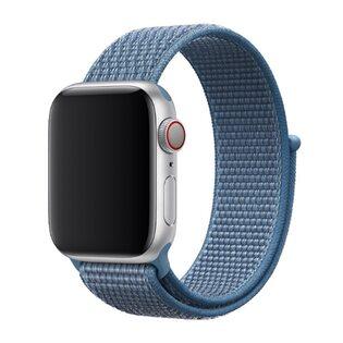 Ремешок Apple Watch на липучке синий (40/42 мм.)