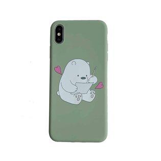 Чехол Белый Медведь iPhone XS MAX
