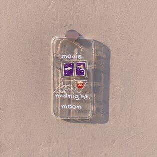 Чехол Movie прозрачный iPhone X/XS