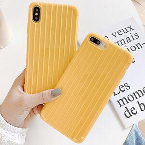 Чехол Желтый iPhone X/XS