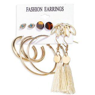 Набор Сережек Fashion Earrings №9 (6 шт.)