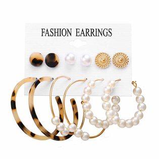 Набор Сережек Fashion Earrings №14 (6 шт.)