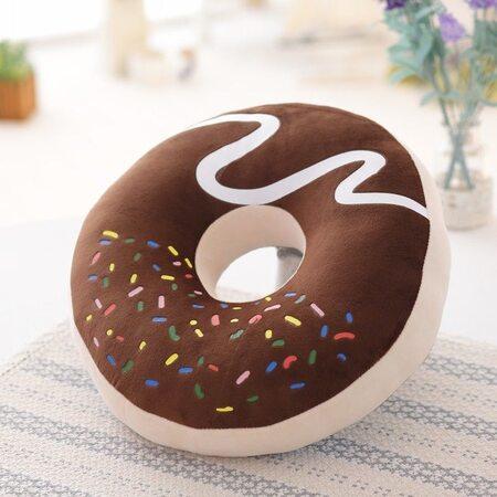 купить Мягкая игрушка Пончик шоколадный 40 см., в Ростове с доставкой