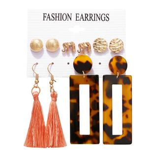 Набор Сережек Fashion Earrings №15 (5 шт.)