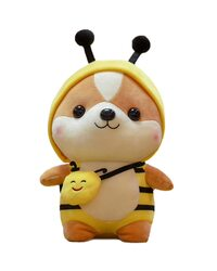 Мягкая игрушка Лисенок в костюме пчелки 40 см.