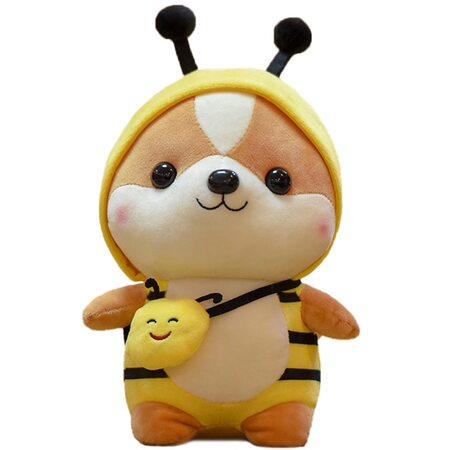 купить Мягкая игрушка Корги в костюме пчелки 40 см., в Ростове с доставкой