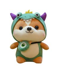 Мягкая игрушка Лисенок в костюме дракона 40 см.