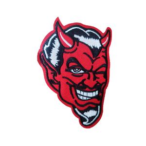 Нашивка Красный дьявол 9 см.