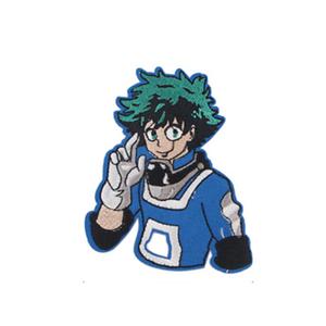 Нашивка Изуку Мидория в синем костюме: Моя геройская академия 9см.