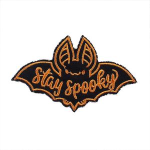 Нашивка Stay spooky 8 см.