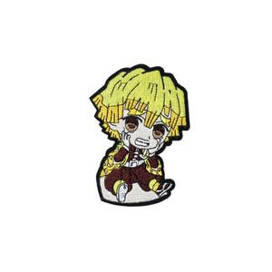 Нашивка Зеницу Агацума: Клинок рассекающий демонов (2) 10 см.