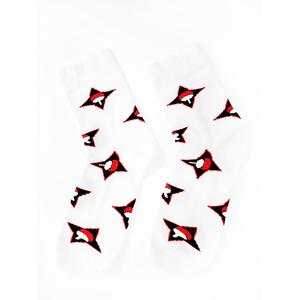 Носки Знак клана Учиха: Наруто (36-41, белые)
