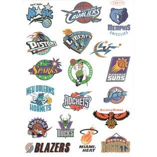 Стикерпак 236 Баскетбольные команды 2. Формат А4