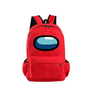 Рюкзак Among Us красный