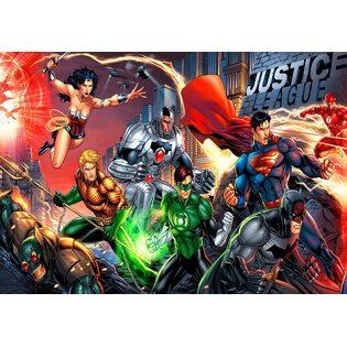 Постер №34 Лига Справедливости. Размер 59х42