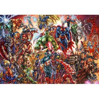 Постер №38 Супергерои. Размер 59х42
