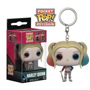 Брелок Funko POP Харли Квинн Отряд Самоубийц (Harley Quinn Suicide Squad)