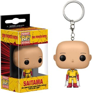 Брелок Funko POP Сайтама: Ванпанчмен (Saitama: One-Punch Man) Original