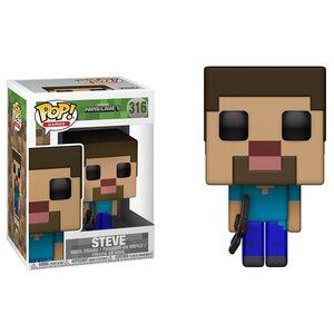 Фигурка Funko Pop Майнкрафт Стив (Minecraft: Steve 316)