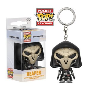 Брелок Funko POP Жнец Овервотч (Reaper Overwatch) Original