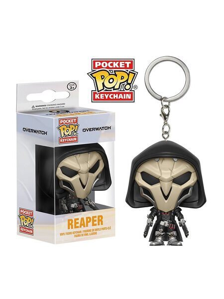 купить Брелок Funko POP Жнец Овервотч (Reaper Overwatch) Original, в Ростове с доставкой