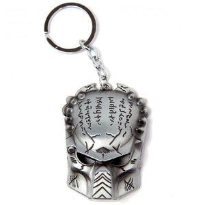 Брелок Маска хищника серебряная