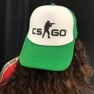 Кепка CS-GO Зеленая