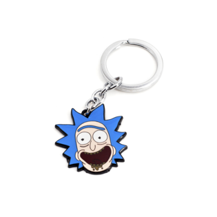 Брелок Рик резина (Rick and Morty)