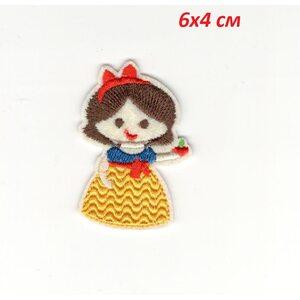 Нашивка Белоснежка (Snow White 6 см.)