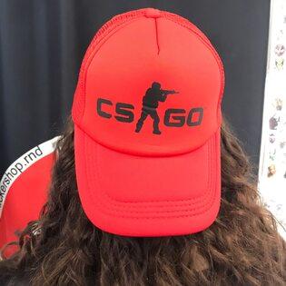 Кепка CS-GO Красная