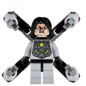Фигурка Lepin Доктор Осьминог: Человек Паук  (Doctor Octopus: Spider Man)