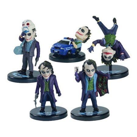 купить Фигурка из набора Джокер: Темный Рыцарь (Joker: The Dark Knight) 5 см. Набор 5 шт., в Ростове с доставкой