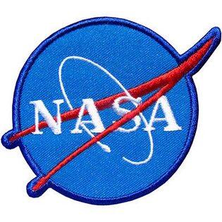 Нашивка Наса (NASA) 10 см.