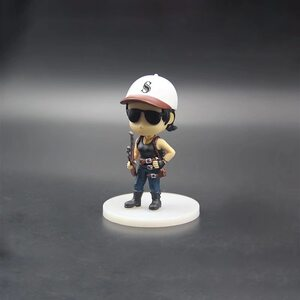 Фигурка PUBG девушка в белой кепке (PlayerUnknown's Battlegrounds) 10 см.
