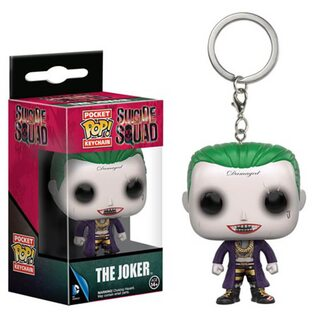 Брелок Funko Pop Джокер Отряд Самоубийц (Joker Suicide Squad) Original