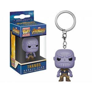 Брелок Funko POP Танос: Марвел (Thanos: Marvel) Original