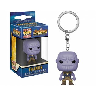 Брелок Funko POP Танос: Марвел (Thanos: Marvel) Original