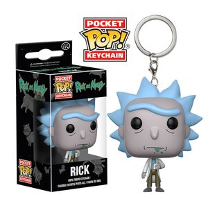 Брелок Funko Pop Рик (Rick) Original