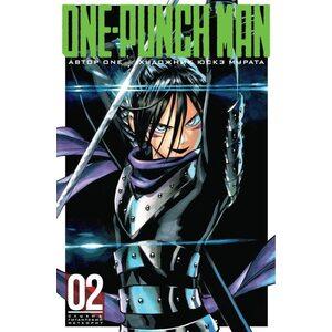 Манга One-Punch Man. Книга 2