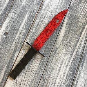 Нож CS:GO Байонет М9 Кровавая паутина v2. (Slaughter 27 см.)