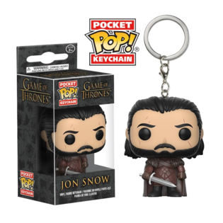 Брелок Funko POP Джон Сноу: Игра Престолов (Jon Snow: Game of Thrones) Original