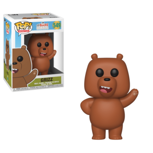 Фигурка Funko POP Гризли: Мы обычные медведи (Grizz: We Bare Bears 549) Original