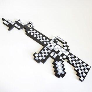 Автомат Майнкрафт серый (Minecraft) 63 см.