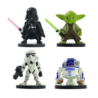 Фигурка из набора Звездные Войны №2 (Star Wars 7 см.) Набор 4 шт.