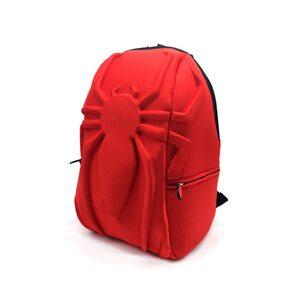 Рюкзак Человек Паук объемный красный (Spider-Man)