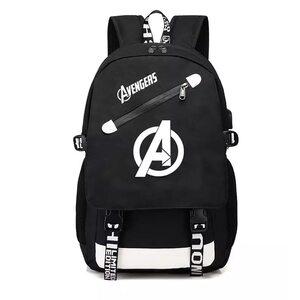 Рюкзак Мстители черный (Avengers)